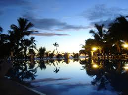 Caraibi tramonto