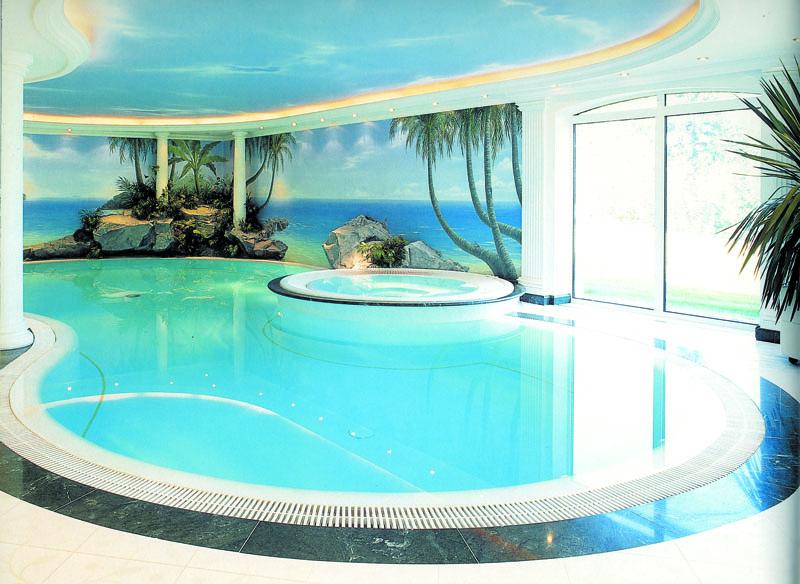 piscine interne per la casa idea creativa della casa e