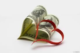 dollaro con cuore