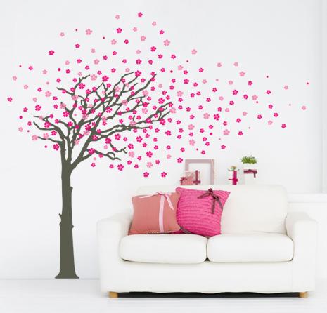 Gli adesivi murali per decorare la casa